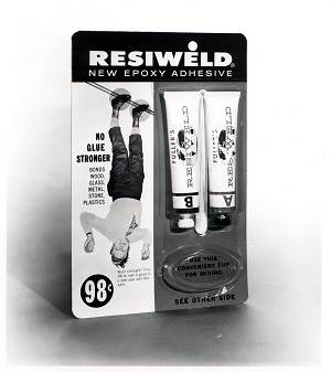 Resiweld brand packaging